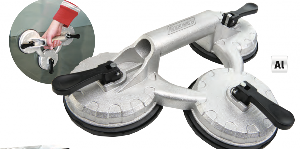 Triple Cup Suction Lifter Rovic Ironmongery